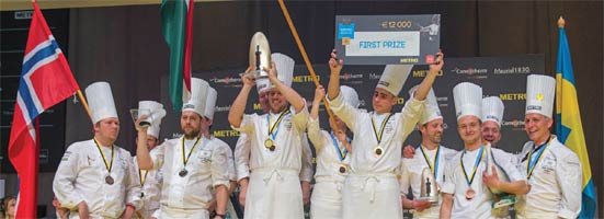 Champions d'Europe bocuse or
